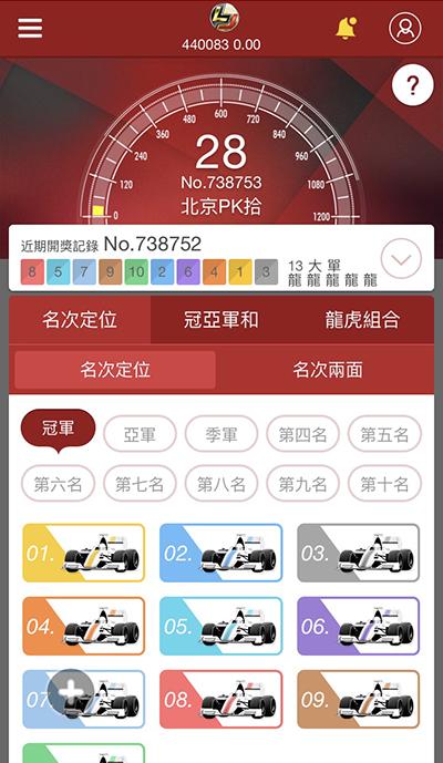 飛艇賽車教學(影片教學/圖文教學) - GamblePlus - 金合發娛樂城 投注方式